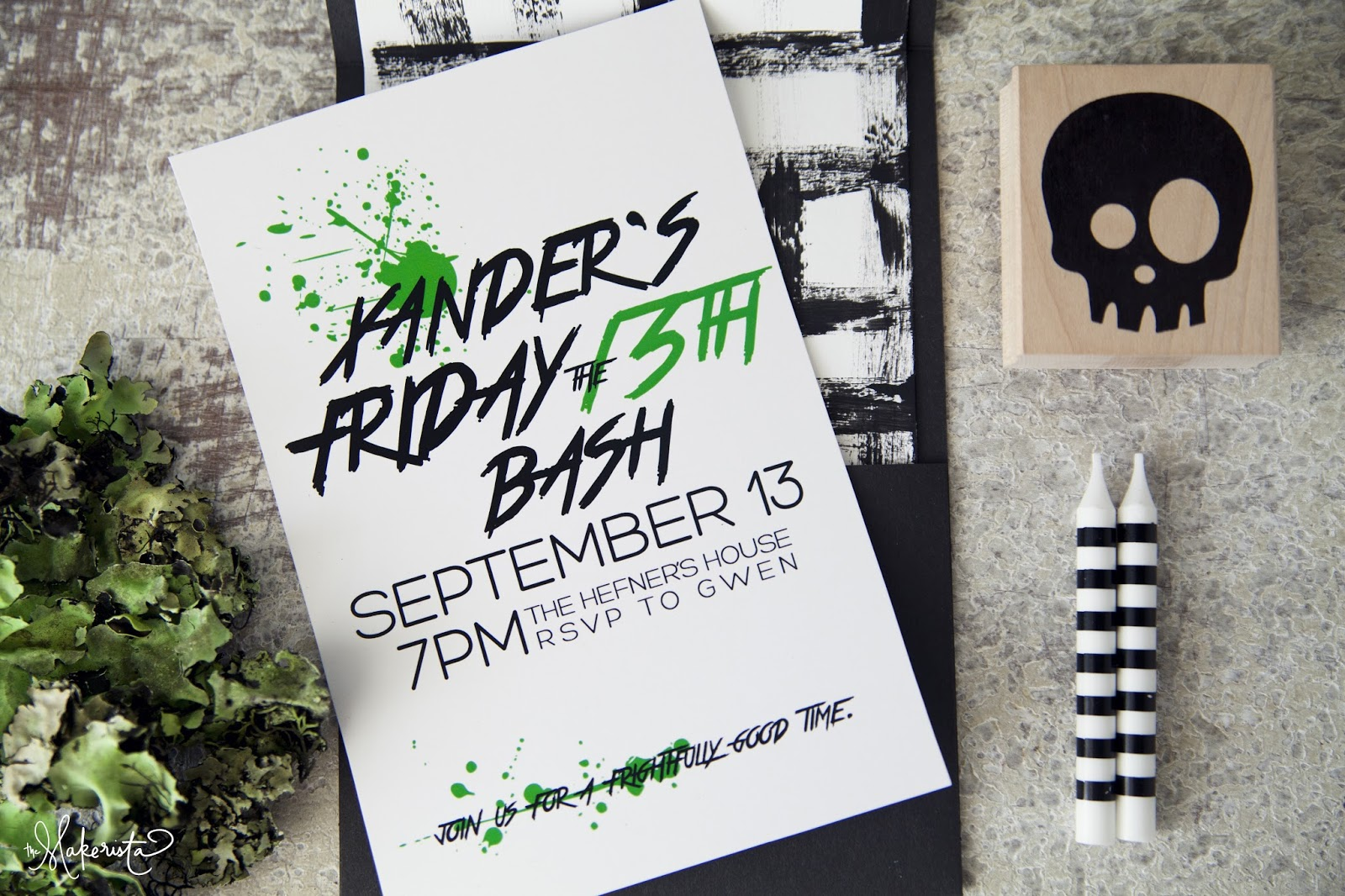 The Makings of a Party: Xander\'s 4th on Friday the 13th | The ...