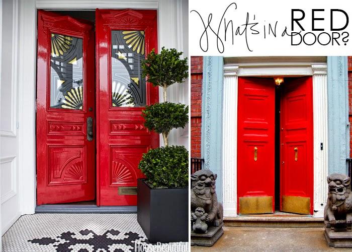 What S In A Red Door