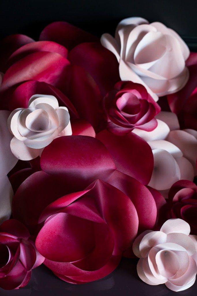 Large paper flower diy the makerista so without further adieu here is how to make these large paper flowers mightylinksfo