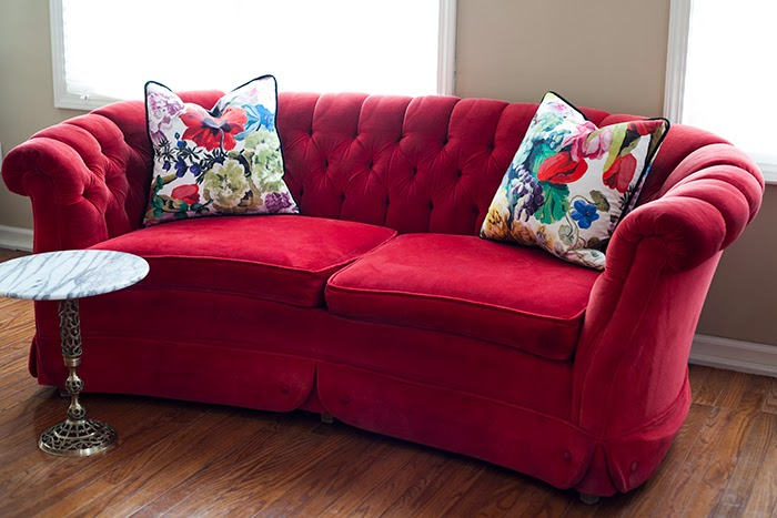 100 red velvet couch dark red velvet tufted sofa with diy w
