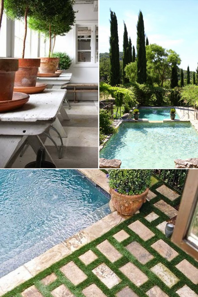Poolside Before + Inspiration - The Makerista on