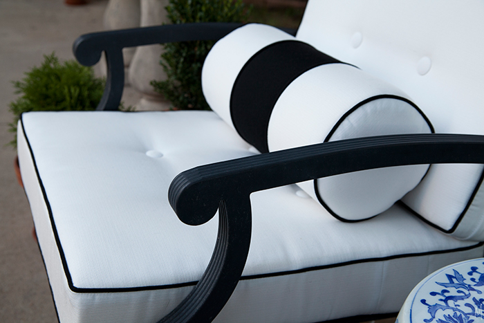 Outdoor Cushions With Custom Details The Makerista