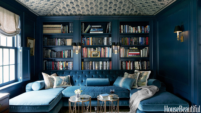Way Not In A Modern Aesthetic It Will Be Timeless Well Do That By Keeping The Bookshelves And Moulding Traditional This Is My Bookshelf Inspiration