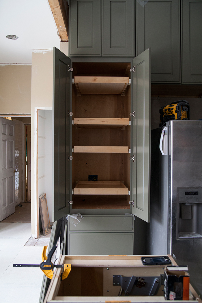 The Kitchen Classic Cabinets With A Custom Feel The