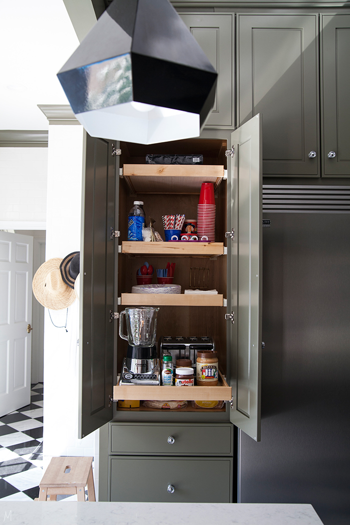 How To Hide Small Kitchen Appliances The Makerista
