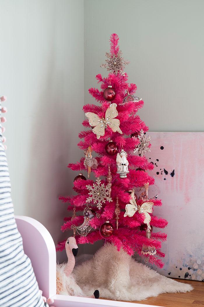 The Makerista Hot Pink Kids Room Tree Img 7260