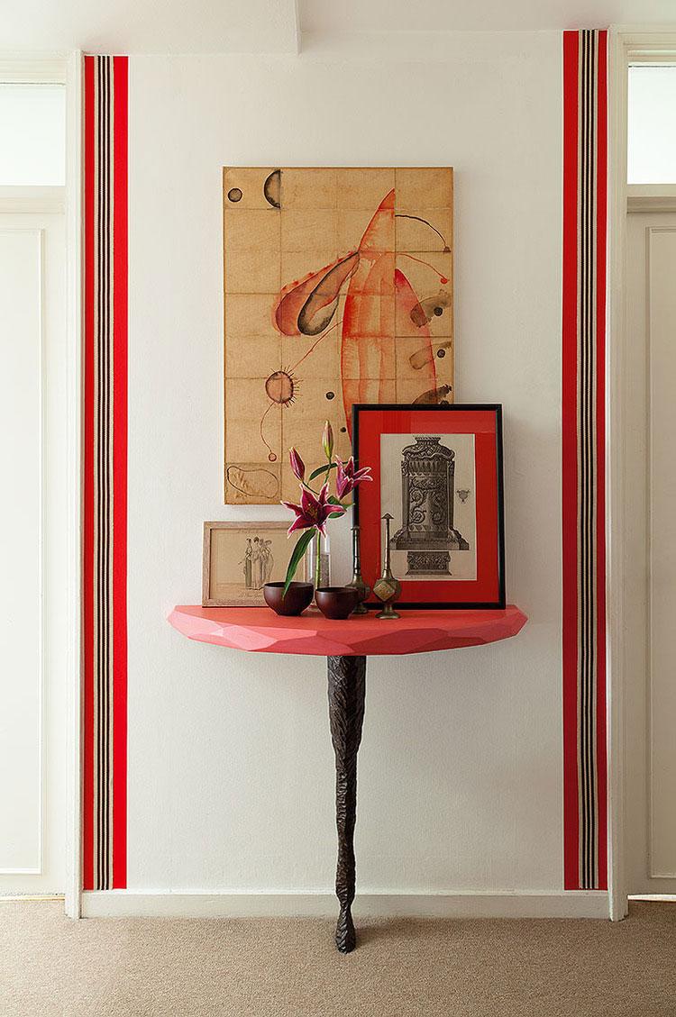 Ashley+Hicks+Interior+Design+Hall+Console+Table+Elden+London+Apartment